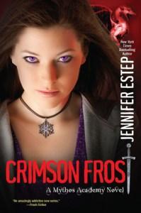 cover for Crimson Frost by Jennifer Estep