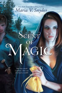 Cover for Scent of Magic by Maria V Snyder