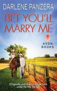 Cover for Bet You'll Marry Me by Darlene Panzera