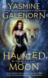 Cover for Haunted Moon by Yasmine Galenorn