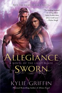 cover for Allegiance Sworn by Kylie Griffin