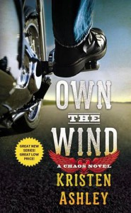 cover for Own the Wind by Kristen Ashley