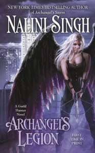 Bookpushers Joint Review – Archangel's Legion (Guild Hunter #6) by Nalini Singh