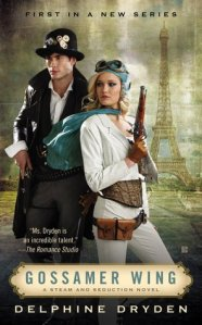 Review – Gossamer Wing (Steam and Seduction #1) by Delphine Dryden