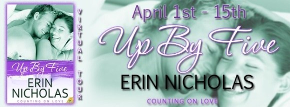 Up by 5 blog tour