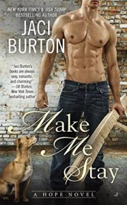 Review – Make Me Stay (Hope #5) by Jaci Burton