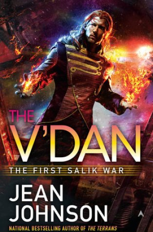 Review – The V'Dan (First Salik War #2) by Jean Johnson