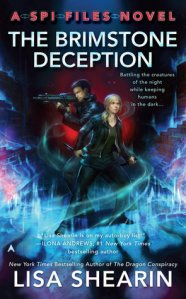 Review – The Brimstone Deception (SPI Files #3) by Lisa Shearin