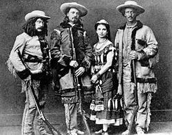 Ned Buntline, Buffalo Bill Cody, Giuseppina Morlacchi, Texas Jack Omohundro