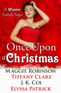 Cover Reveal: Once Upon a Christmas Anthology (A Wynter Family Saga)