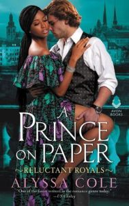 A Prince on Paper (Reluctant Royals #3) cover image