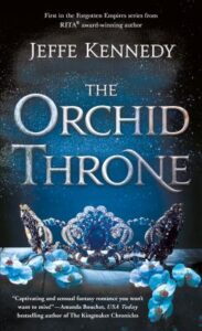 The Orchid Throne (Forgotten Empires #1) Cover Image
