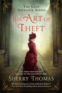 Cover image - The Art of Theft (Lady Sherlock #4)