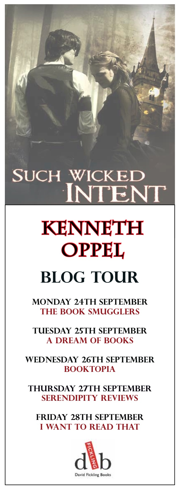 book review such wicked intent by kenneth oppel the book you