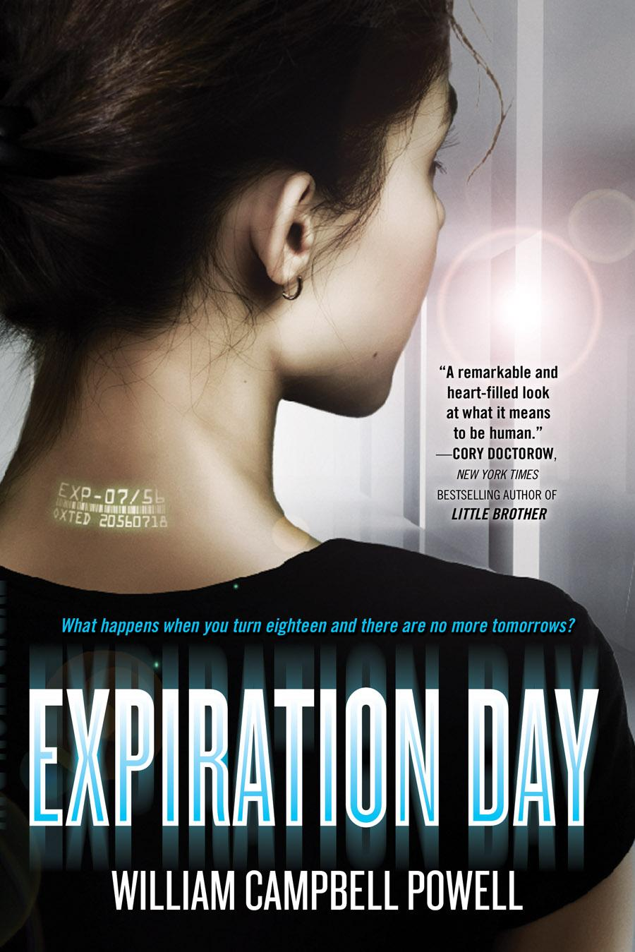 Expiration Date By William Campbell Powell, 8 (science Fiction, Ya) 3  Bluecrowne By Kate Milford, 8 (historical, Fantasy, Horror, Mg)