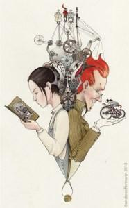 The Boneshaker (illustration by Andrea Offerman)