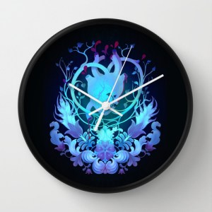 Mrs Yaga Society 6 Wall Clock