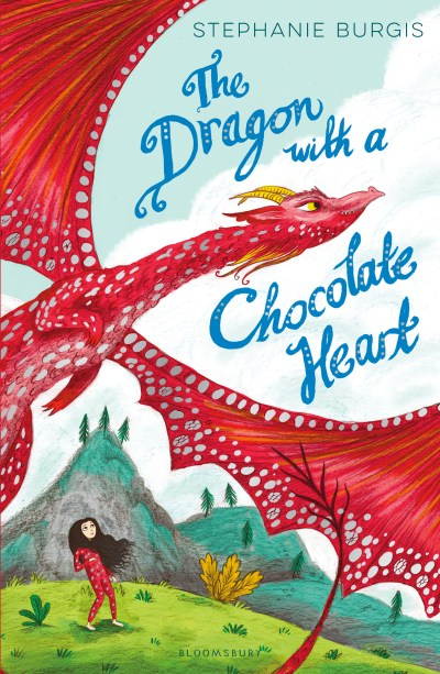 Dragon with Chocolate Heart UK