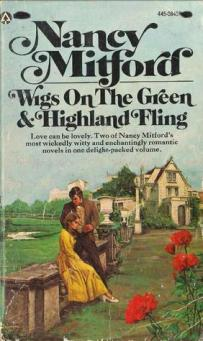 Obviously not quite out of print until Penguin reissued in 2010... I found this ghastly jacket on an internet search. The vogue in the late sixties/early seventies was to make every novel by a female author look like a Mills & Boon, quite a misrepresentation of Wigs on the Green