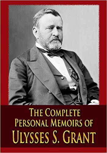 Image may contain: 1 person, beard, text that says 'THE COMPLETE PERSONAL MEMOIRS OF ULYSSES S. GRaNT'