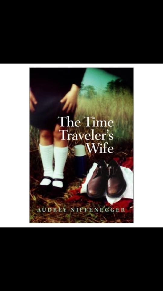Image may contain: one or more people and shoes, text that says 'The Time Traveler's Wife AUDREY NIFFENEGGER'
