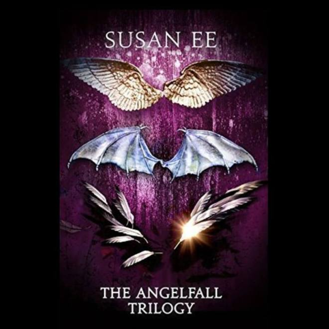 Image may contain: text that says 'SUSAN EE THE ANGELFALL TRILOGY'