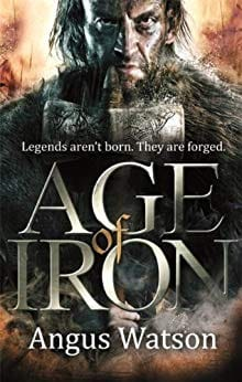 Image may contain: 1 person, text that says 'Legends aren't born. They are forged. AGE IRON Angus Watson'