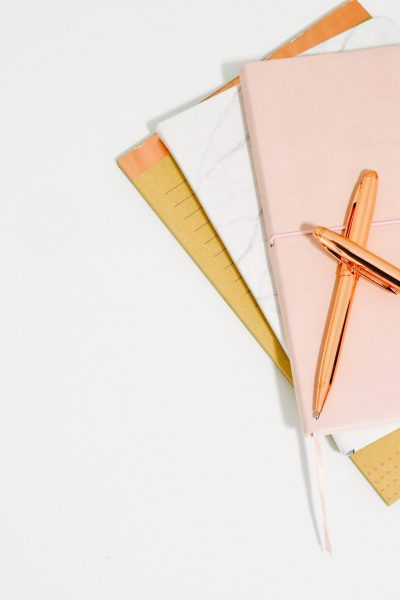 Notebooks with pens