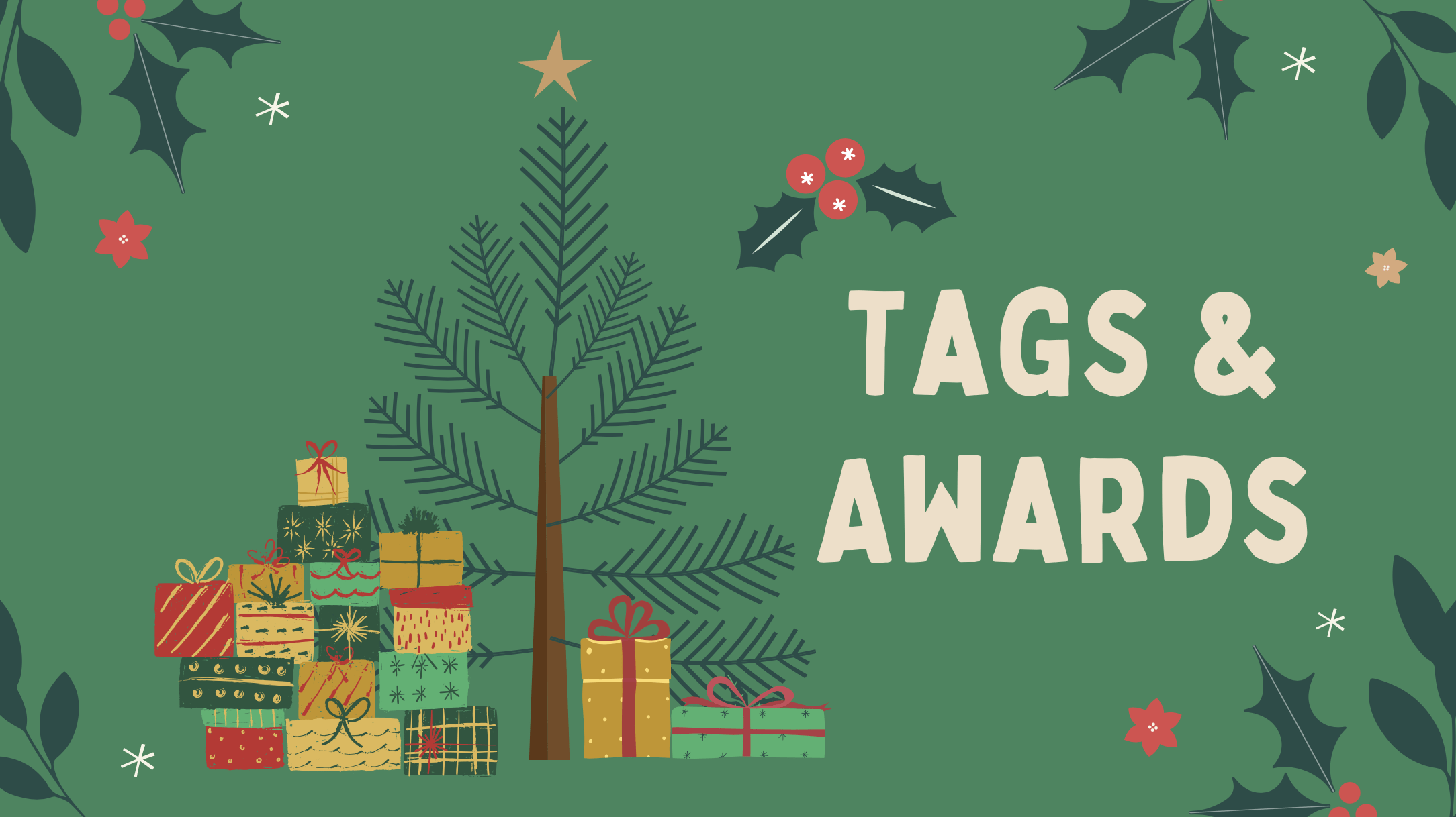 Blogmas #15 | The Liebster Award #3, Just Some Bibliophilic Things Books Tag, OMG! That Song Book Tag