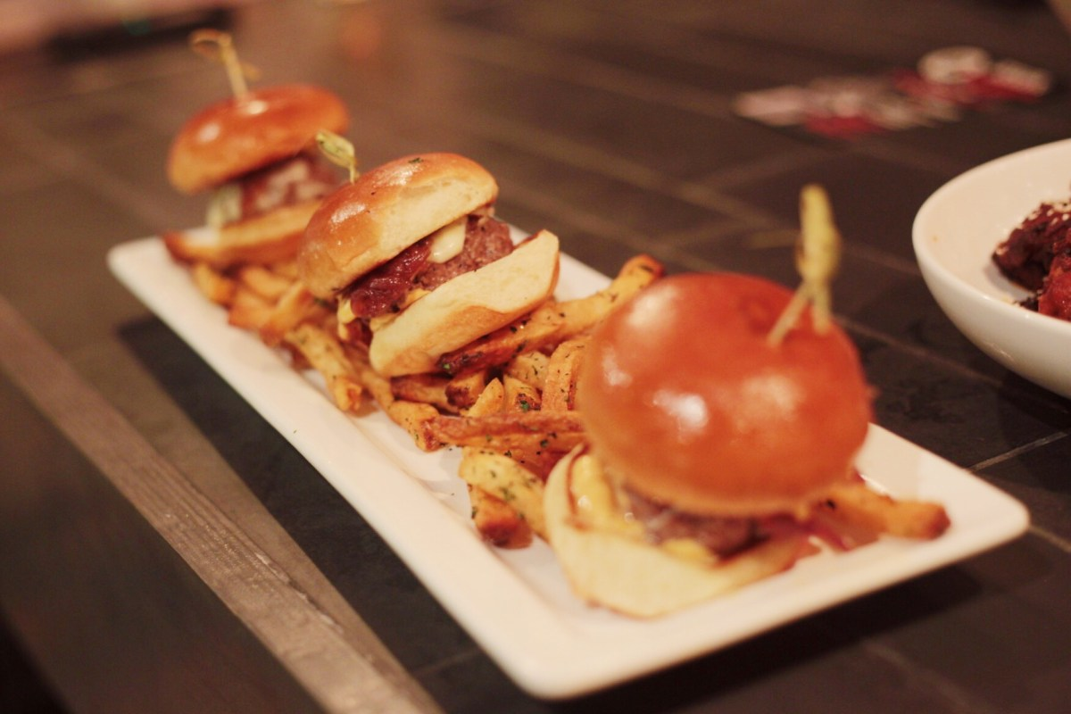 Little Cheeseburgers from Elm City Social