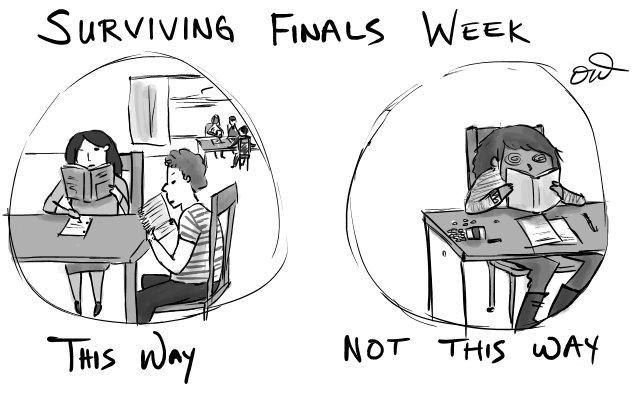 5 Reasons Why Finals Aren't the Worst
