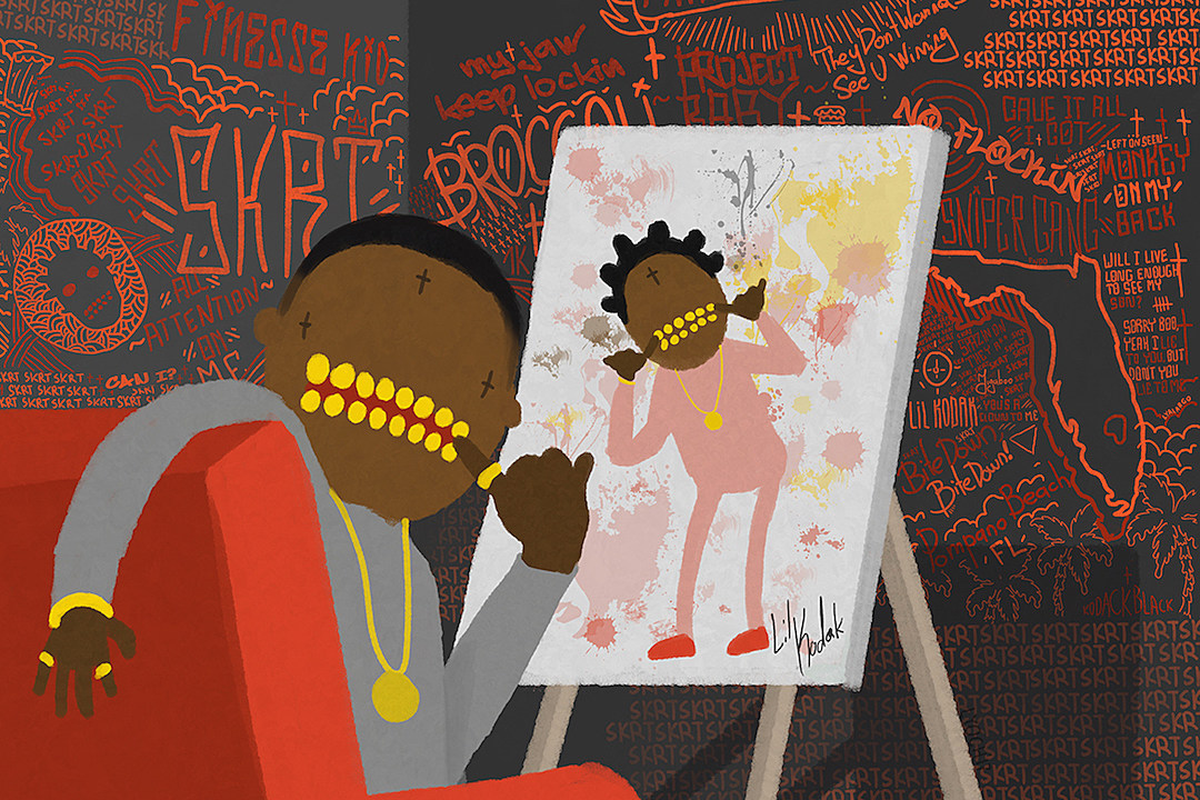 5 Best Songs From Kodak Black s  Painting Pictures  Album