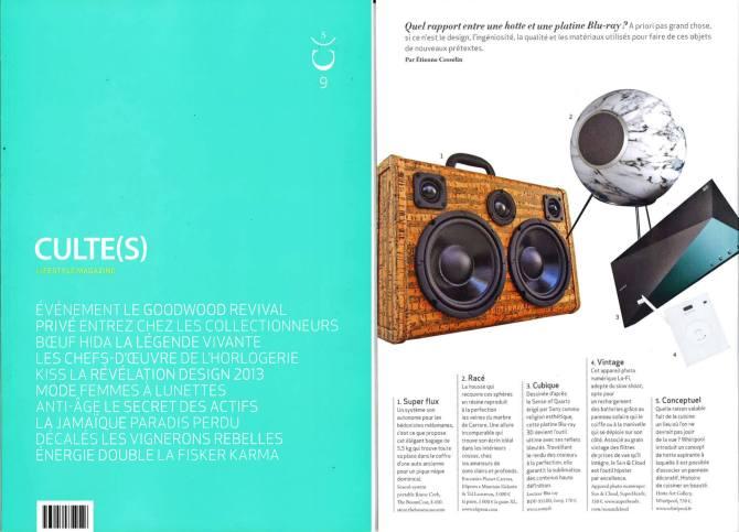culte(s) -Magazine France BoomCase Cork Lifestyle Fashion design