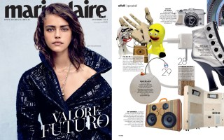 marie claire italy october boomcase fashion Girl Design vintage BoomBox Suitcase bruno craftsman sears