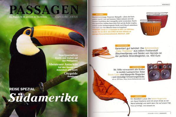 magazine passagen germany boomcase boombox tucan vintage design boombox