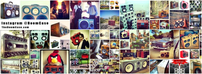 instagram boomcase @boomcase people fun boombox collage