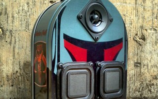 Star Wars Boba Fett Starwars BoomCase BoomBox LunchBox Assassin