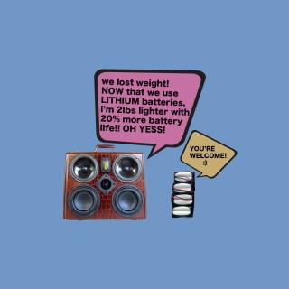 Lithium BoomCase Battery Fresh New Super Cool Business Gator Talks Dope Boy Girl
