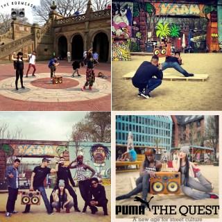 puma BoomCase NYC CentralPark Salah PumaTheQuest