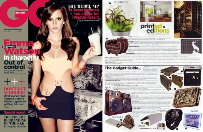 GQ May Emma Watson BoomCase UK British Sexy Girl Harry Potter