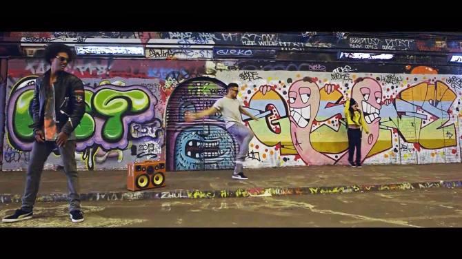 Puma The Quest London England UK BoomCase BoomBox Break Dance Breakin
