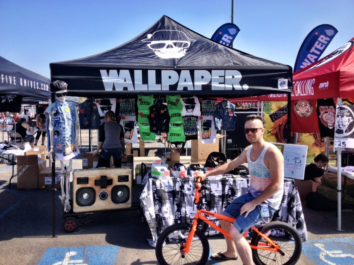 Wallpaper Vans Warped Tour 2013 BoomCase BMX Ricky Reed