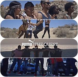 Puma LA Tight Eyez LA Krump Dance Break Dance Hip Hop California BoomCase BoomBox