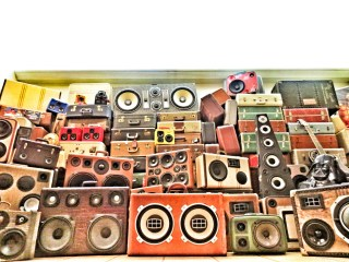 Wall of Sound BoomCase BoomBox Wall Sound Crazy Awesome Amazing Suitcases Bass Thump Suitcase Speaker