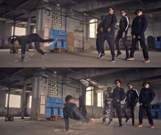 Puma Dance Crew boomCase Puma the quest BoomBox Break Dance Breaking Breakin Dub Step BoomBox Bass