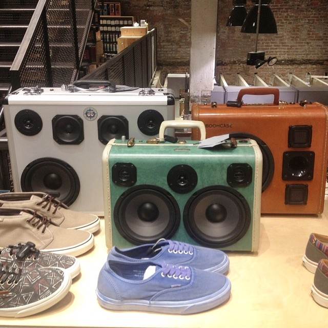 space 98 Brooklyn urban outfitters herald square boomcase NYC NY new york urban boombox bluetooth speakers
