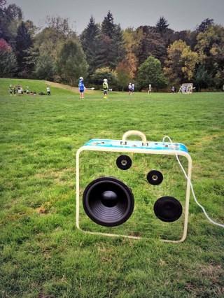 ConBroChill BoomCase Disco Camo Discoball Lacrosse LAX Oregon