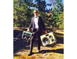 Julian Hine Rasta Chromag Bikes Whistler Canada Boomcase BoomBox Vintage Wedding Forest Wooden