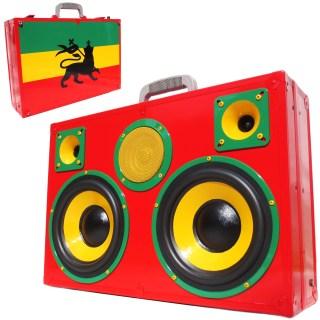 Rasta BoomCase BoomBox Reggae Jamaica Bob Marley