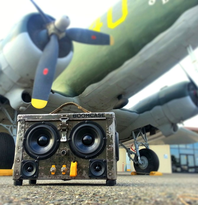 Ammo Box Speaker BoomBox BoomCase Bomber Jet Prop Airbase Bluetooth Best